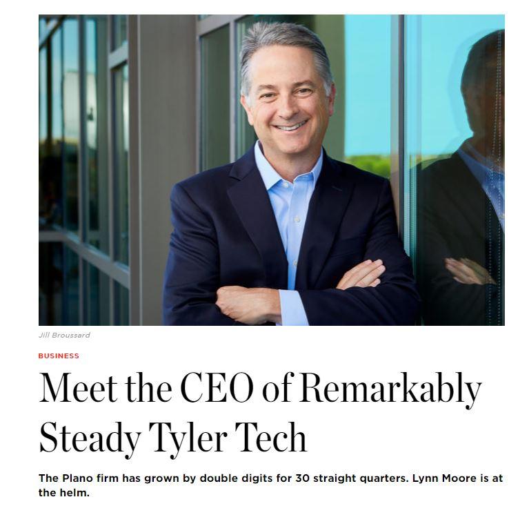 Tyler Tech CEO - D Magazine