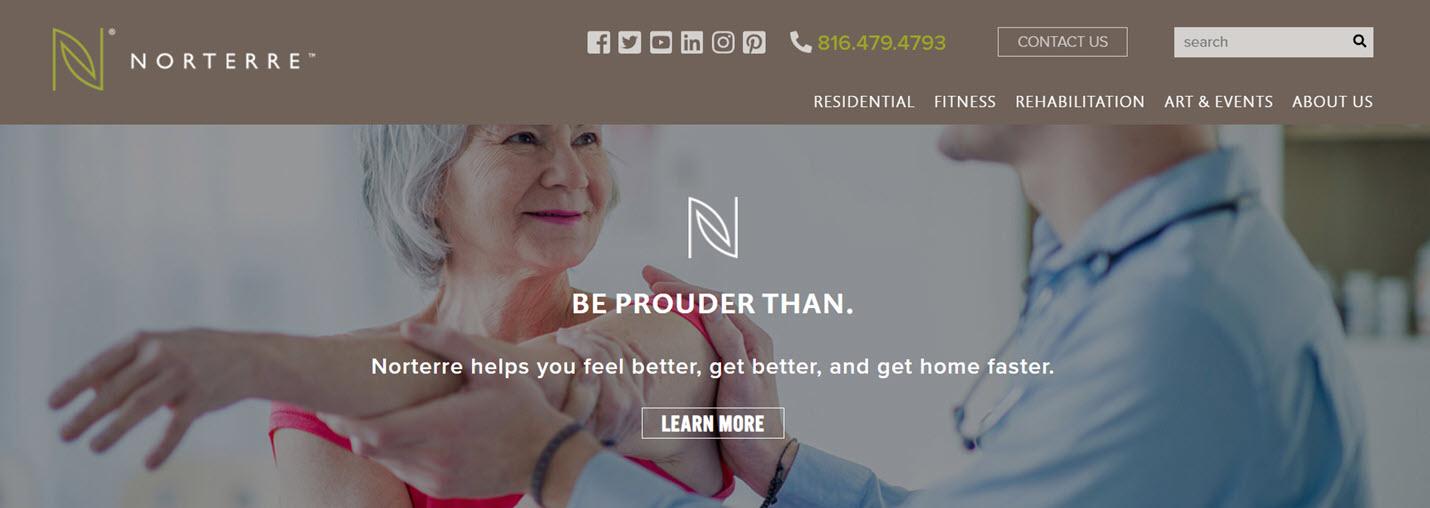 Norterre multigenerational destination helps you feel better, get better, and get home faster.